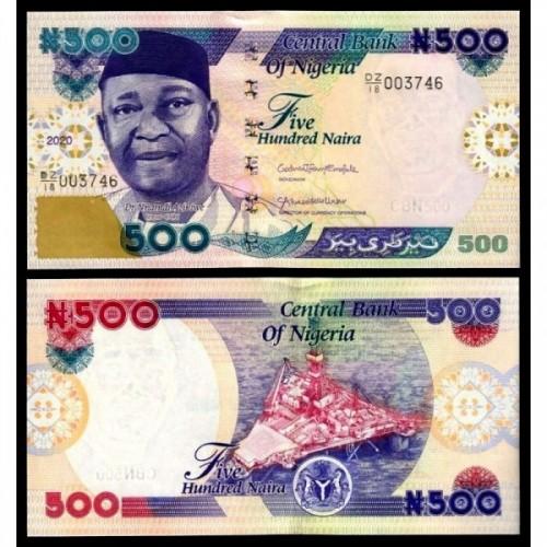 NIGERIA 500 Naira 2020