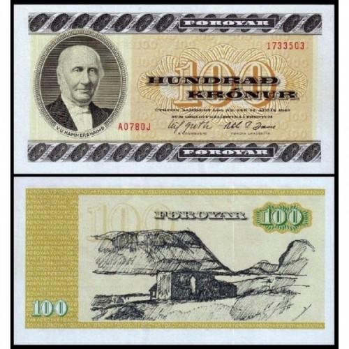 FAEROE ISLANDS 100 Kronur 1978