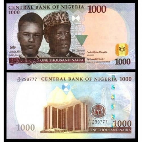 NIGERIA 1000 Naira 2020