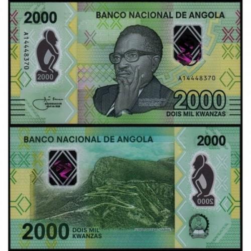 ANGOLA 2000 Kwanzas 2020...