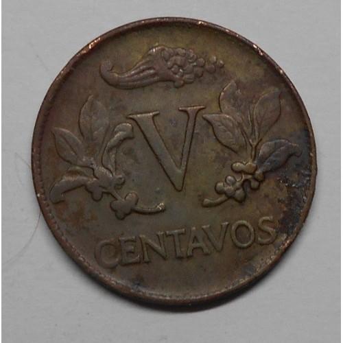 COLOMBIA 5 Centavos 1971