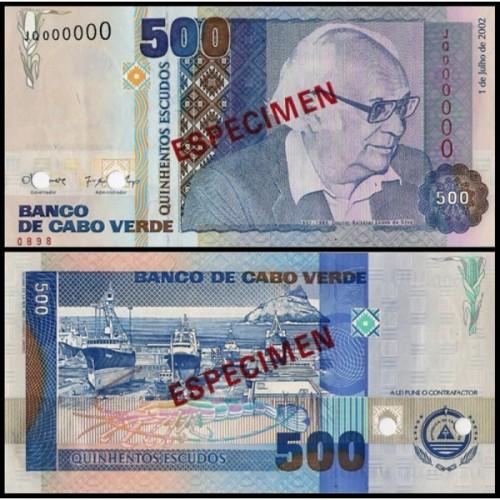 CAPE VERDE 500 Escudos 2002...
