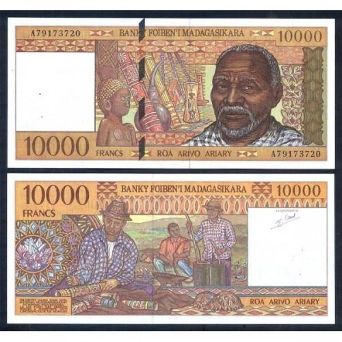 MADAGASCAR 10.000 Ariary 1995