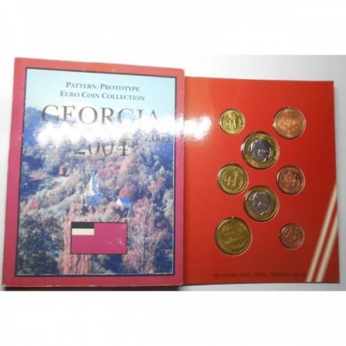 GEORGIA Set coins 2004 Euro...