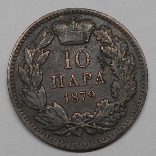 SERBIA 10 Para 1879