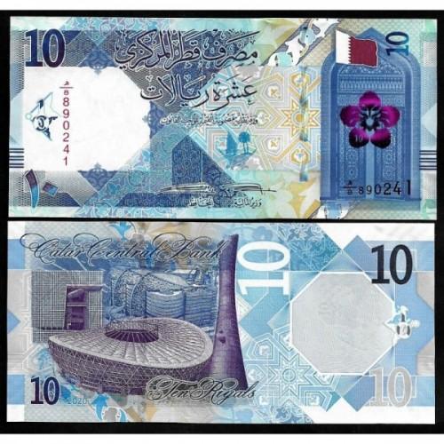 QATAR 10 Riyals 2020