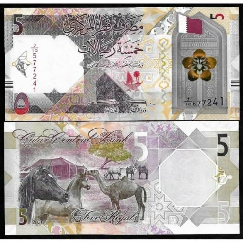 QATAR 5 Riyals 2020