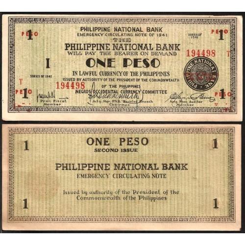 PHILIPPINES 1 Peso 1941