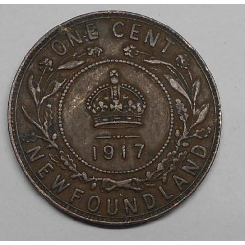 NEWFOUNDLAND CANADA 1 Cent...