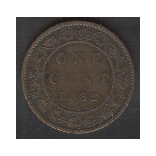 CANADA 1 Cent 1882H