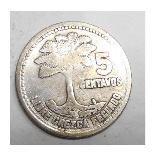 GUATEMALA 5 Centavos 1958...