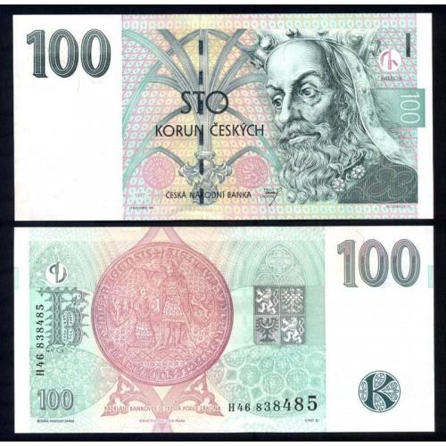 CZECH REPUBLIC 100 Korun 1997