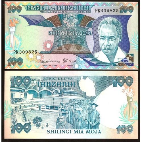 TANZANIA 100 Shilingi 1986