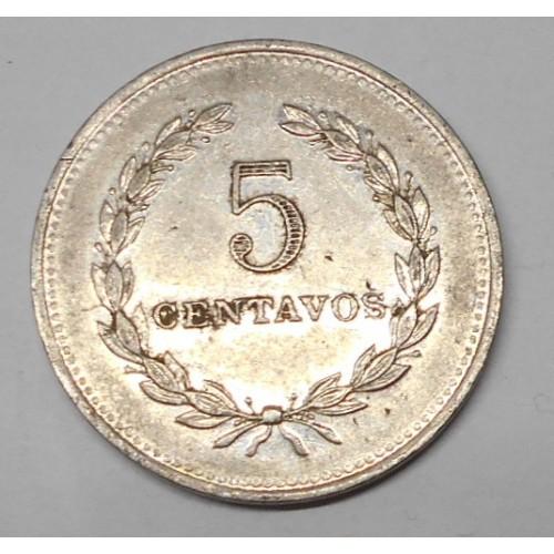 EL SALVADOR 5 Centavos 1984