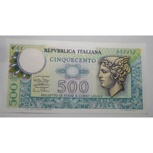 500 Lire Mercurio 1974...