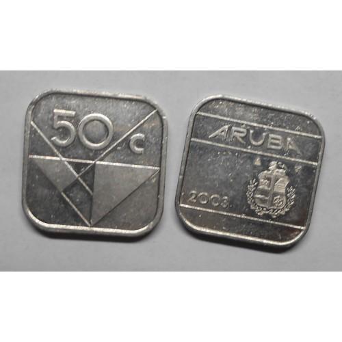 ARUBA 50 cents 2003