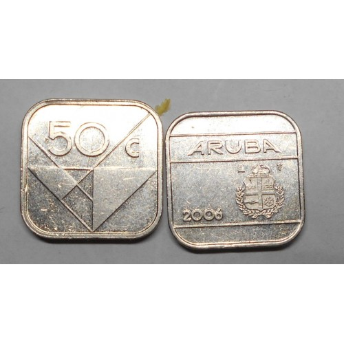 ARUBA 50 cents 2006