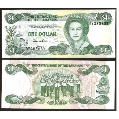 BAHAMAS 1 Dollar 2002