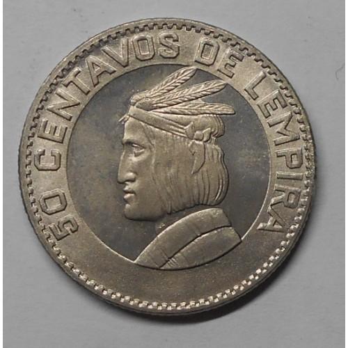 HONDURAS 50 Centavos 1967