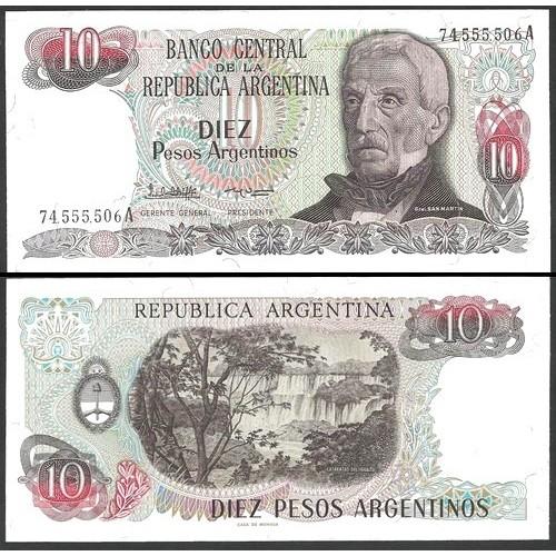 ARGENTINA 10 Pesos...