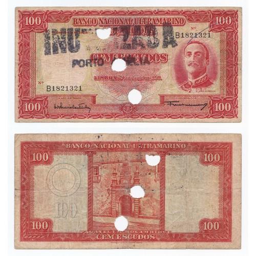 MOZAMBIQUE 100 Escudos 1958