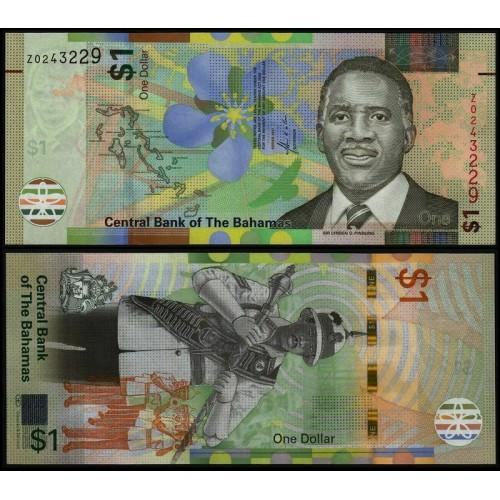 BAHAMAS 1 Dollar 2017...