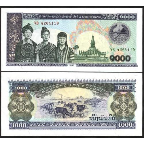 LAOS 1000 Kip 1998