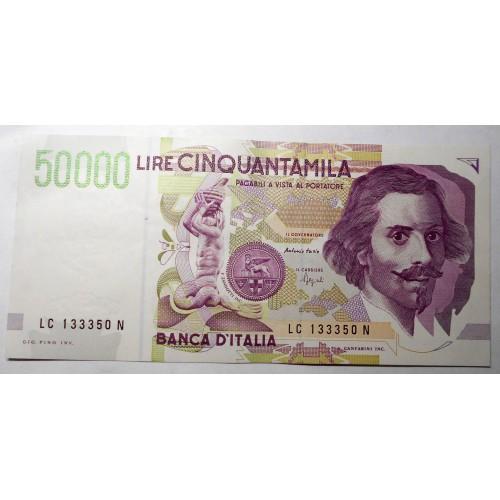 50.000 Lire Bernini 2° Tipo...