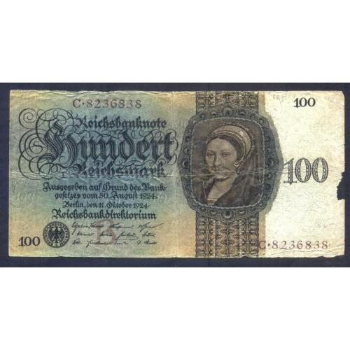 GERMANY 100 Reichsmark 1924